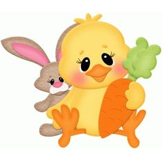 Silhouette Design Store: easter chick w bunny