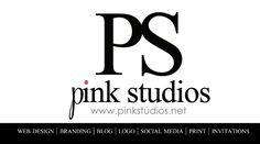 Pink Studios #businesscards www.pinkstudios.net  #branding #logo #black #corporateidentity
