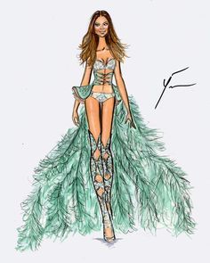 VS Fashion Show 2014 'Fairytale' : Behati Prinsloo by Yigit Ozcakmak