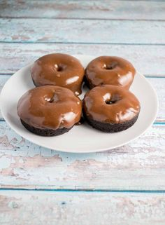 This Chocolate Donuts with Creamy Chocolate Frosting recipe is the best!  Also included is a dairy free option! If you were to ask me right now what is one of my most proud baking moments it would be these Chocolate Donuts with Creamy Chocolate Frosting.    These are good.  I'm talking real...