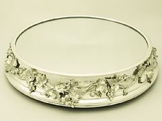 An exceptional, fine and impressive antique Victorian English sterling silver mirrored plateau; an addition to our presentation silverware collection  http://www.acsilver.co.uk/shop/pc/Sterling-Silver-Mirrored-Plateau-Antique-Victorian-189p4343.htm