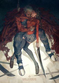 Archer & Rin - Fate/Stay Night
