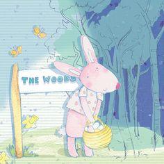 . April - professional children's illustrator, view portfolio