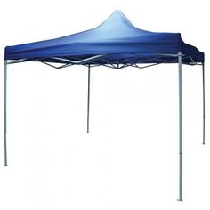 Pavilion pliabil pentru gradina, terasa 3m x 3m - albastru Pavilion, Gazebo, Oxford, Outdoor Structures, Patio, Outdoor Decor, Home Decor, Kiosk, Decoration Home