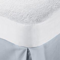 Superior Hypoallergenic 100-percent Waterproof Cotton Premium Mattress Protector  http://www.overstock.com/9238729/product.html?CID=245307