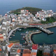 Pueblo pesquero de Malpica A Coruña