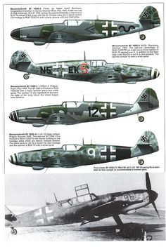 Bf 109 G, G12 and K variants (16) | Flickr - Photo Sharing!