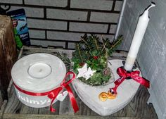 Concrete, Homemade, Christmas Ornaments, Holiday Decor, Home Decor, Decoration Home, Home Made, Room Decor, Christmas Jewelry