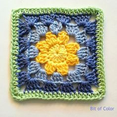 100 Days Crochet Challenge, A Square A Day 53