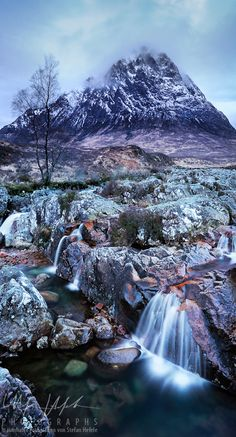 Frosty Rannoch Moor,
