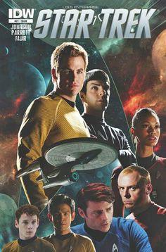 Star Trek reboot universe,IDW comics