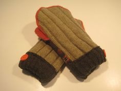Essexville Cashmere & Wool Mittens  med/lg  by MichMittensbyLauri, $23.00