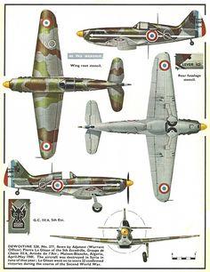 Dewoitine 520 - Nr.377 , 5a Escadrille, Groupe de Chassè III/6, Armee de l'Air, pilota Adjutant Pierre Le Gloan, Maison Blanche, Algeria, maggio 1941