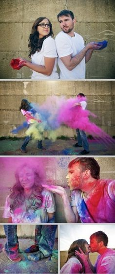 Awww this looks like fun!  Too late for engagement pics...maybe anniversary pics??