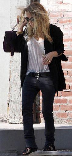 Mary-Kate Olsen looking effortlessly cool in NYC.