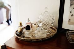 Love vintage trays