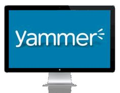 Put your Yammer on the walls