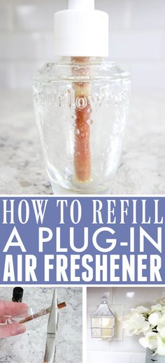How to Refill a Plug-In Air Freshener | The Creek Line House Air Freshener, Diy Cleaning Products, Cleaning Hacks, Home Helpers, Helpful Hints, Handy Tips, Budget Organization, Home Projects, Design Projects