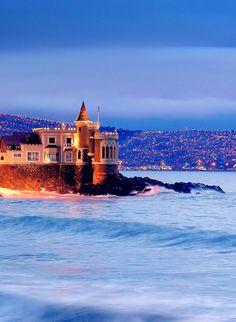 Castillo Wulff, Viña del Mar, Chile (porBracani....Antonio) - Coming Soon!! Chequeado..!!!!