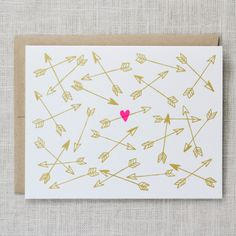 Gotcha Card #heart #cupid