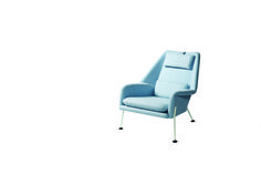 Ernest Race Heron armchair in blue