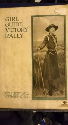 Girl Guide Victory Rally