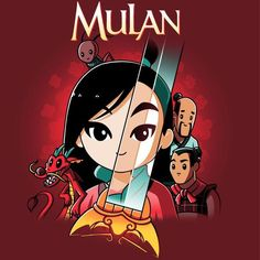 Disney Mulan T-Shirt / Juniors / S - Princess T Shirt - Ideas of Princess T Shirt - Disney Mulan T-Shirt Disney TeeTurtle When the Emperor of China issues a decree that one man per family must serve in the Imperial Chinese A Disney Pixar, Disney Animation, Disney Magic, Disney Fan Art, Disney Films, Disney And Dreamworks, Disney Cartoons, Disney Love, Disney Characters