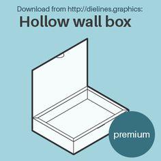 Templatemaker.nl ✂︎ Free custom packaging and papercraft templates Pillow Box Template, Paper Box Template, Origami Templates, Box Templates, Fabric Dolls, Rag Dolls, Wall Boxes, Glitter Houses, Maker