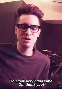 Brendon Urie~ HES FREAKING GORGEOUS