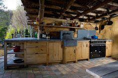 Dirk Cousaert - Furniture Design & Creation - Outside kitchen oak - Discover…