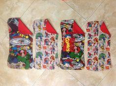 Superhero burp cloths!!!!!!