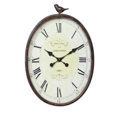 I could always make a little bird (paper mashe or embroidery) to sit on top of the clock I make for the spare room
