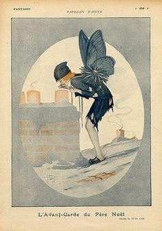 Jean Tam 1918 Winter Butterfly The Small Chimney Sweep