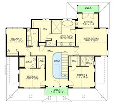 Three Level Shingle Style House Plan - 23733JD | Architectural Designs - House Plans