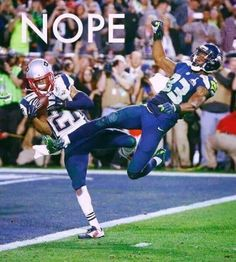 Could look at this over & over again! @Mac_BZ @Patriots #SuperBowlXLIX