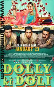 Dolly Ki Doli (2015) Hindi Movie Cast and Crew Information  Director: Abhishek Dogra Star Cast: Sonam Kapoor, Rajkummar Rao, Pulkit Samrat, Varun Sharma, Rajesh Sharma, Malaika Arora Khan, Manoj Joshi, Archana Puran Singh, Mohammed Zeeshan Ayyub, Saif Ali Khan, Brijendra Kala Genres: Comedy Released Date: 23 Jan 2015 Country: India Language: Hindi Dolly Ki Doli (2015) Online Movie
