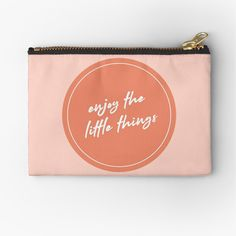 Little Things, Things To Come, Design Quotes, Zipper Pouch, Makeup Yourself, Creative Design, Are You The One, Positive Quotes, Zip Around Wallet