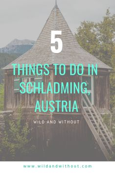 There's much more to Schladming than Aprés-Ski! Here's our five favourite things to do around Schladming, including photos and day trip recommendations. Stuff To Do, Things To Do, Weekend Breaks, Swiss Alps, European Travel, Day Trip, Travel Hacks, Travel Ideas, Cool Places To Visit