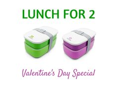 Valentine's Day Special: Lunch for 2 - Purchase 2 Bentgo Lunch Boxes (regular and/or BentgoKids) and get 20% off at checkout with coupon code: LUNCHFOR2 Order now at Bentgo.com!