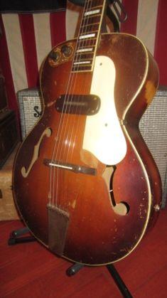 1949 Kay Sherwood Deluxe sunburst > Guitars : Archtop Electric & Acoustic - Rivington Guitars | Gbase.com