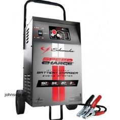 Portable Car Battery Charger 12 Volt W/Tester Engine Jump Starter Start Trickle #Schumacher