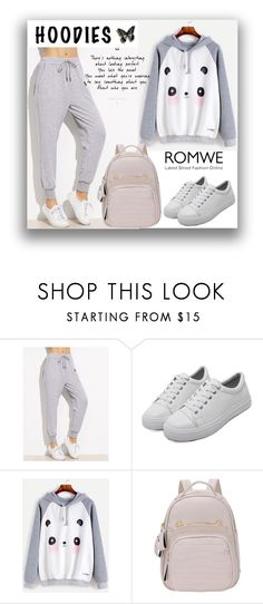 """""""#5 Romwe"""" by almira-mustafic ❤ liked on Polyvore"""
