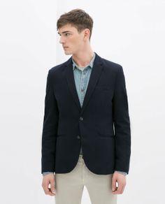 Zara man basic jacket