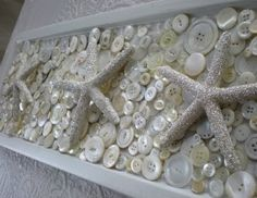 Beach Crafts for Adults | ... shells in high contrast. And many more sparkling glitter crafts
