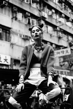 by Jeff Hahn | Post Magazine | Model > Jolene Lin | Fashion by Wu Ting Ting | Hair by Ken Hui | Make-up by Megumi Sekine