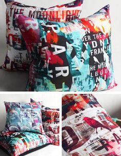 Lindsay Blamey cushions.