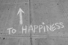 The pursuit of happiness.
