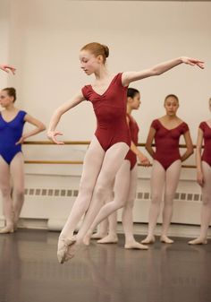 """Catherine Hurlin, a student at ABT's Jacqueline Kennedy Onassis School (some of you may have seen her in ABT's Nutcracker), is part of the sixth season of the hit web-based reality show """"Dance (212)."""" http://dance212.com/node/428   What a gifted dancer!"""