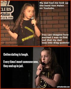 Funny 10 yr. old comedienne.
