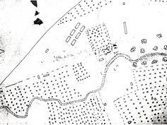 План рощи Дубки (где располагалось имение Нестора Кукольника), составленный немцами в 1943 году.
